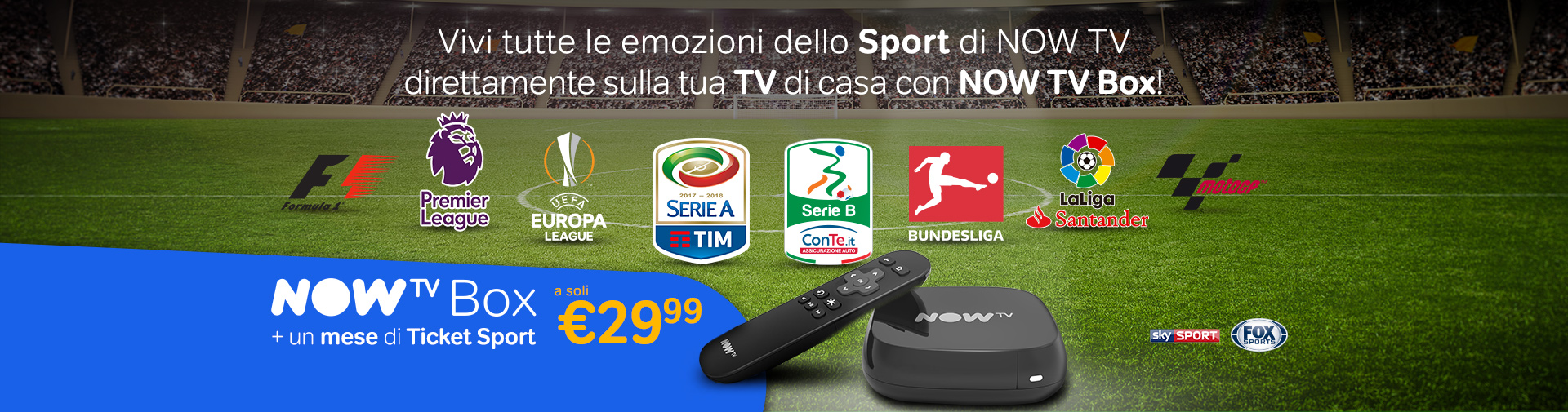Loghi Sport + TV BOX