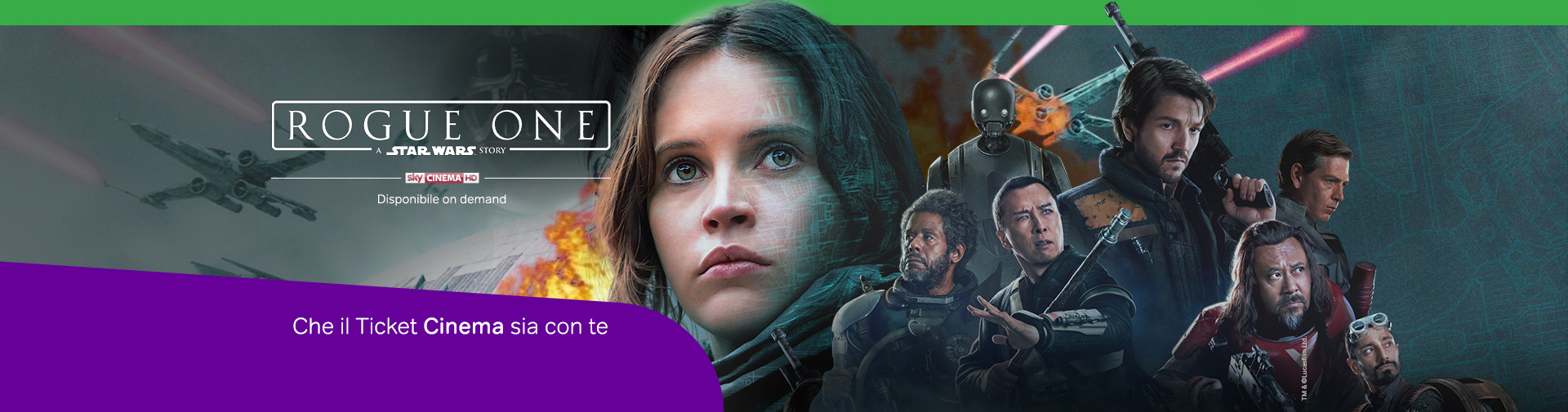 Rogue One OD Ticket 9.99€